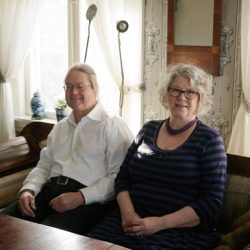 Ole Thoresen og hans kone har stått for restaureringen av Glengsgata 1