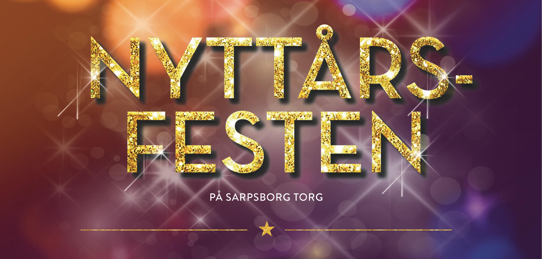 Logo, nyttårsfesten. Illustrasjon.