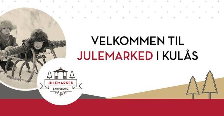 Julemarked i Kulåsparken, banner. Foto/illustrasjon.
