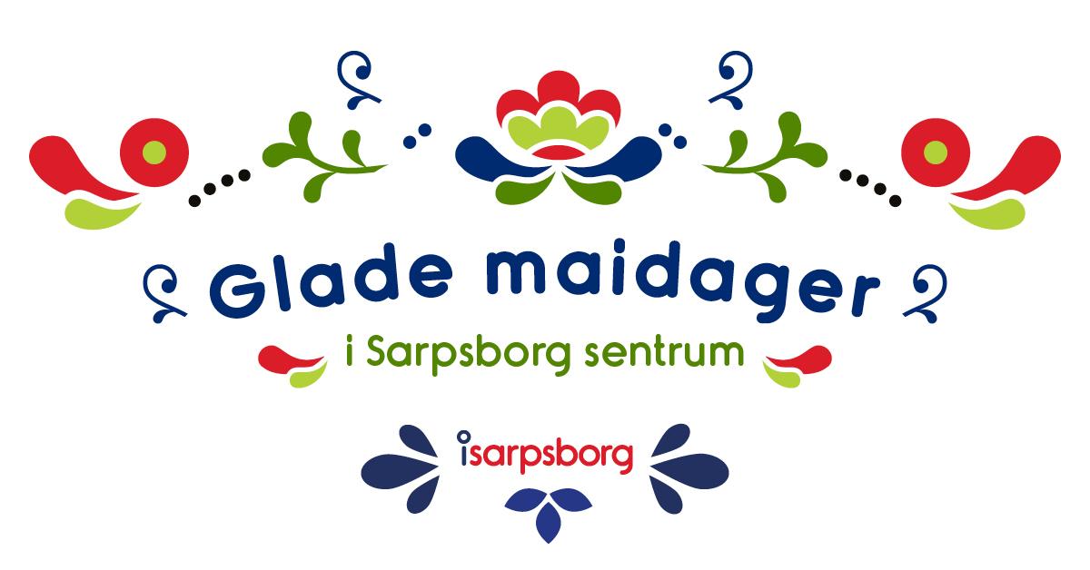 Logo, Glade maidager. Illustrasjon.