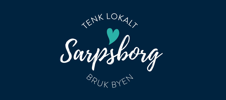 Tenk lokalt – Bruk byen, logo. Illustrasjon.