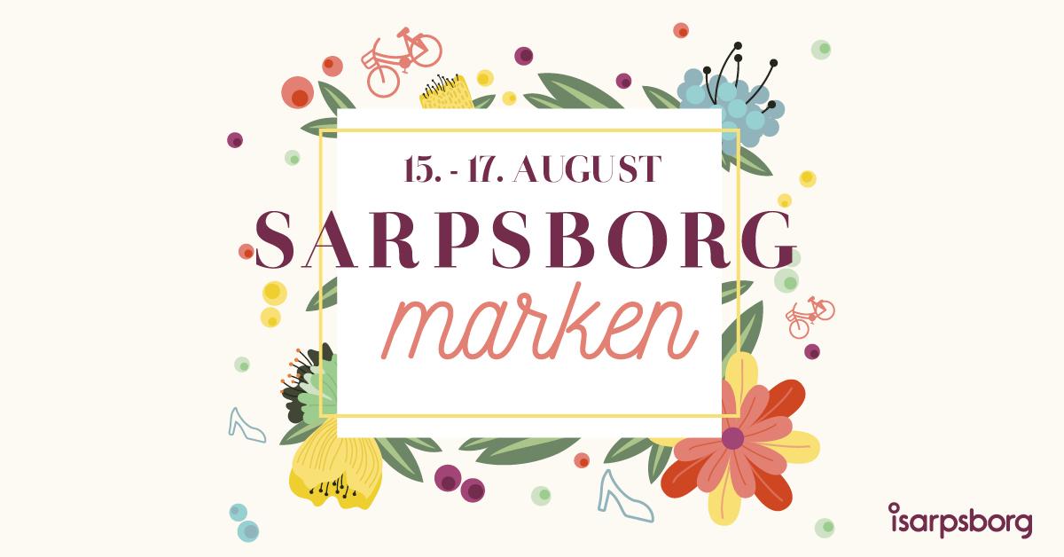 Sarpsborgmarken 2019 logo