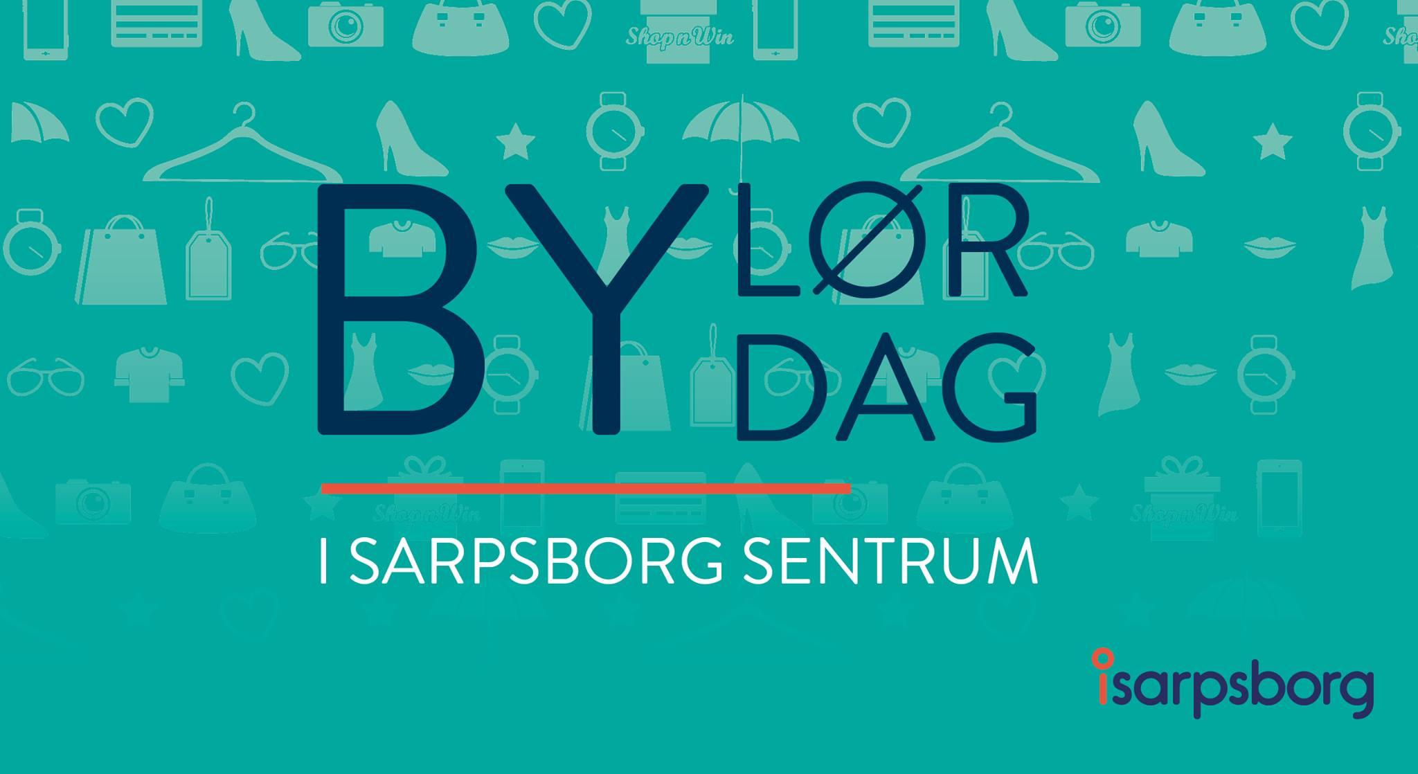 Bylørdag logo. Illustrasjon/grafikk