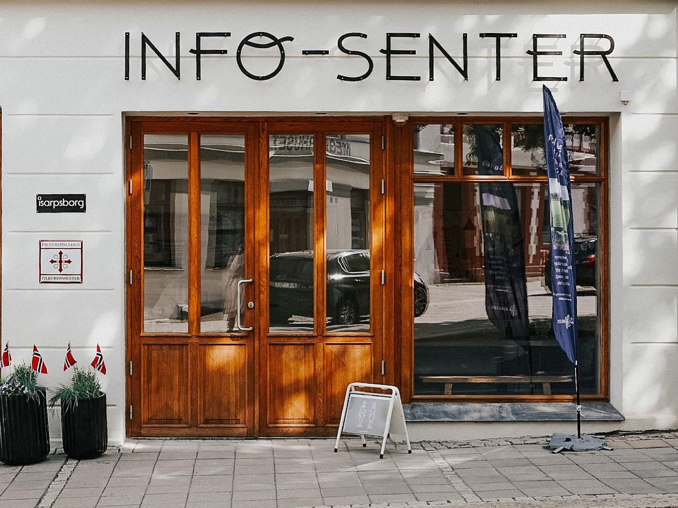 Utsiden av iSarpsborgs nye lokaler i Torggata 15. Foto.